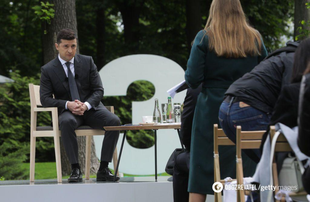 Пресс-конференция Владимира Зеленского 2020