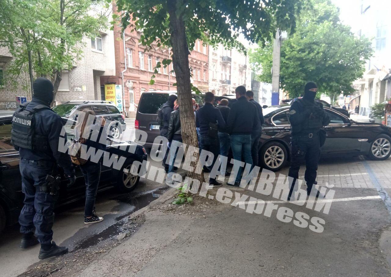 Поліцейський спецназ провів затримання