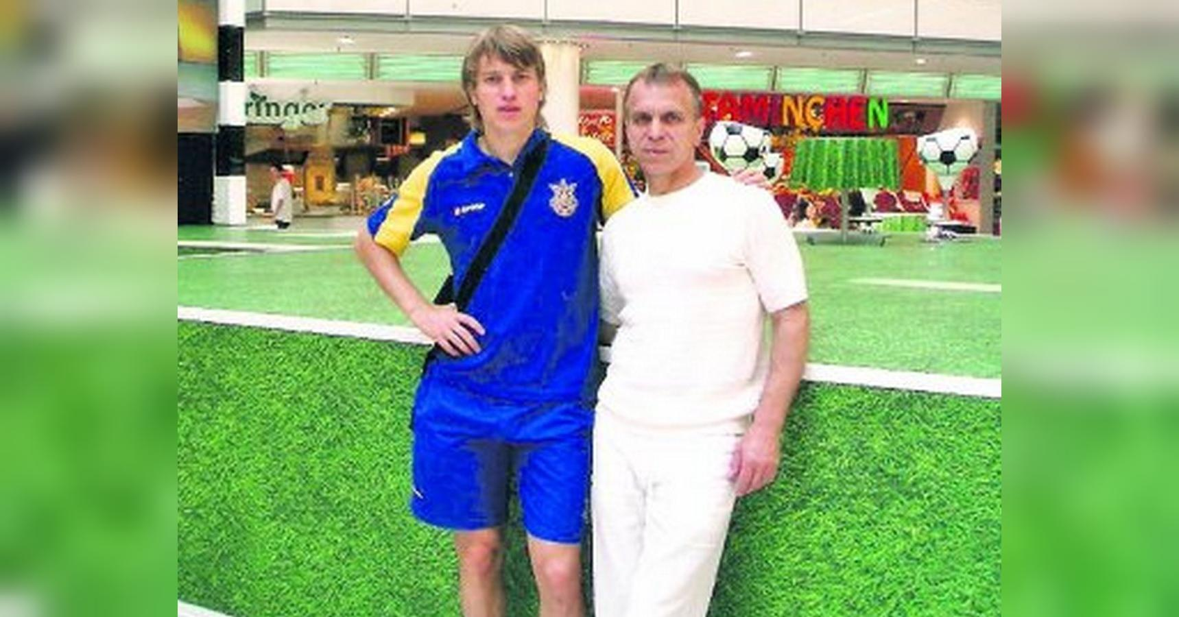 Руслан Ротань з батьком