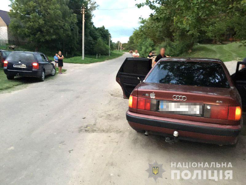 Подросток на машине старшего брата сбил ребенка