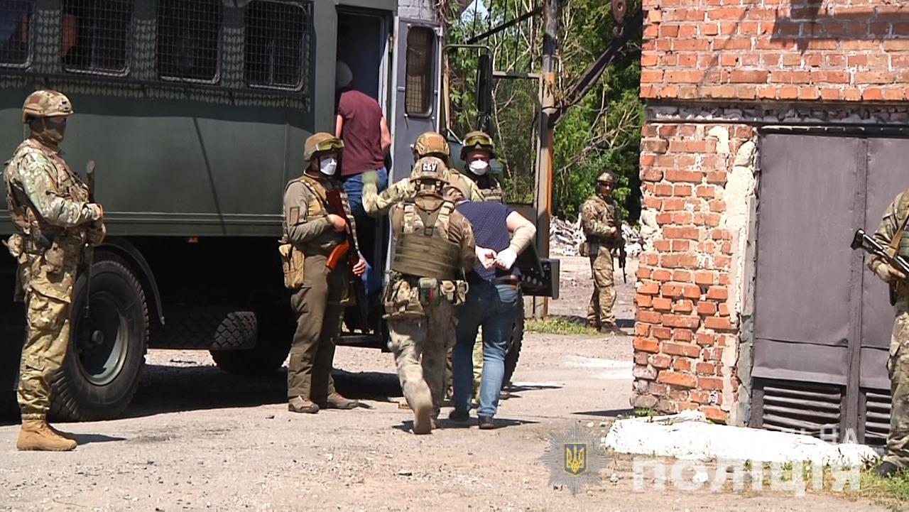 Правоохранители провели антитеррористические учения
