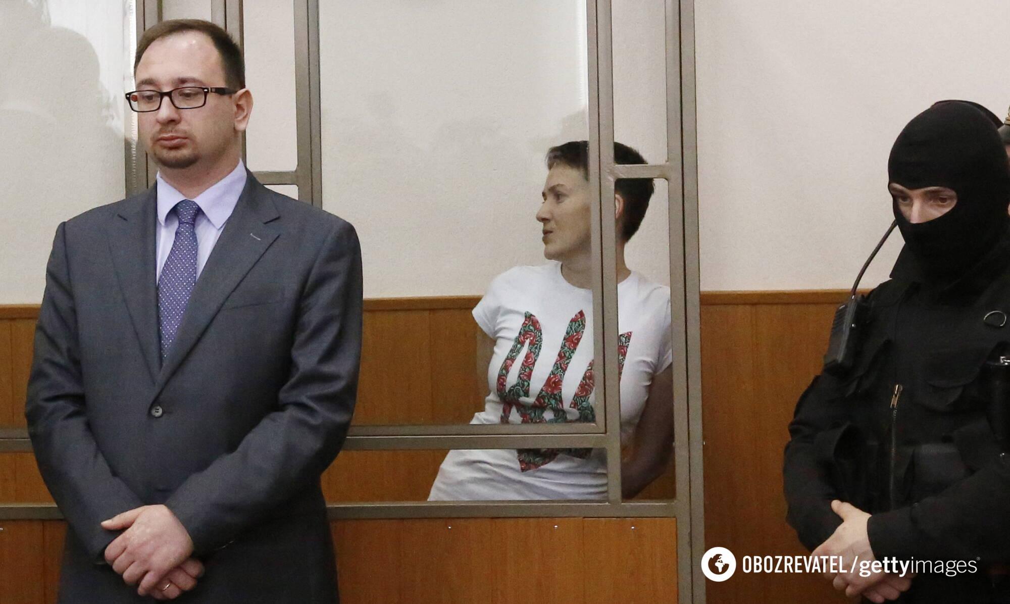 Николай Полозов в суде