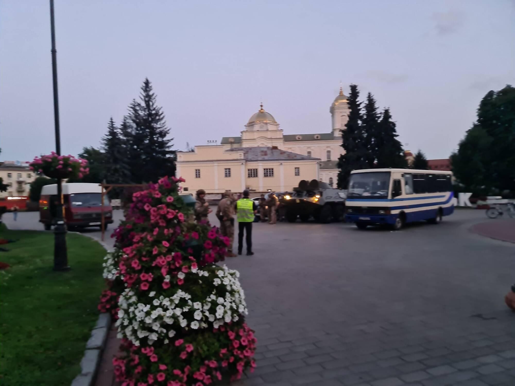 Заложников в Луцке освободили