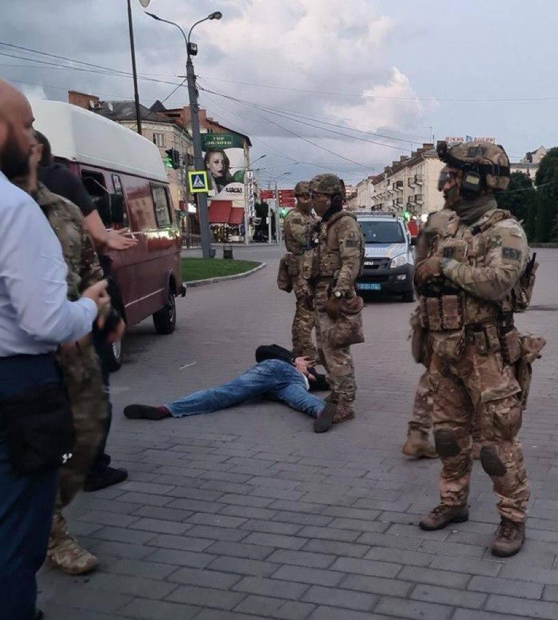 Луцкого террориста задержали