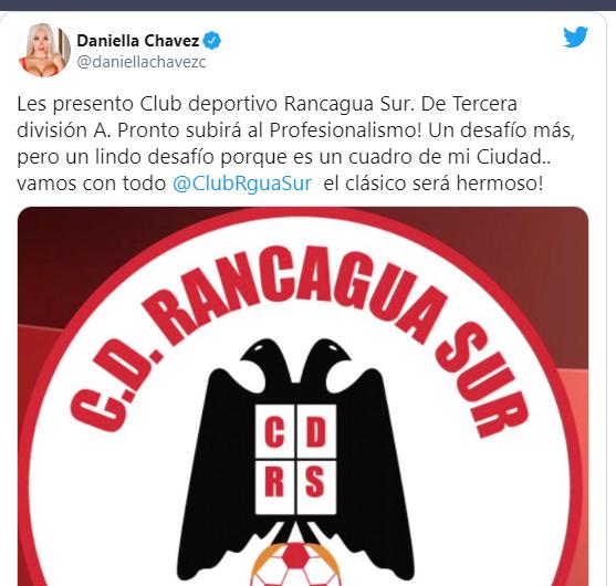 Даниэла Чавес похвасталась покупкой клуба