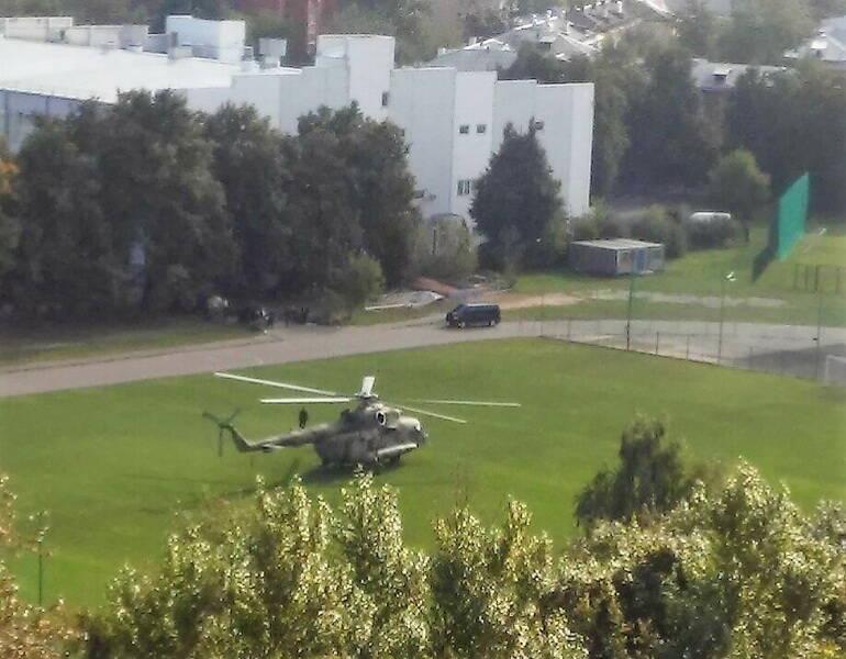 вертоліт у Фрязіно