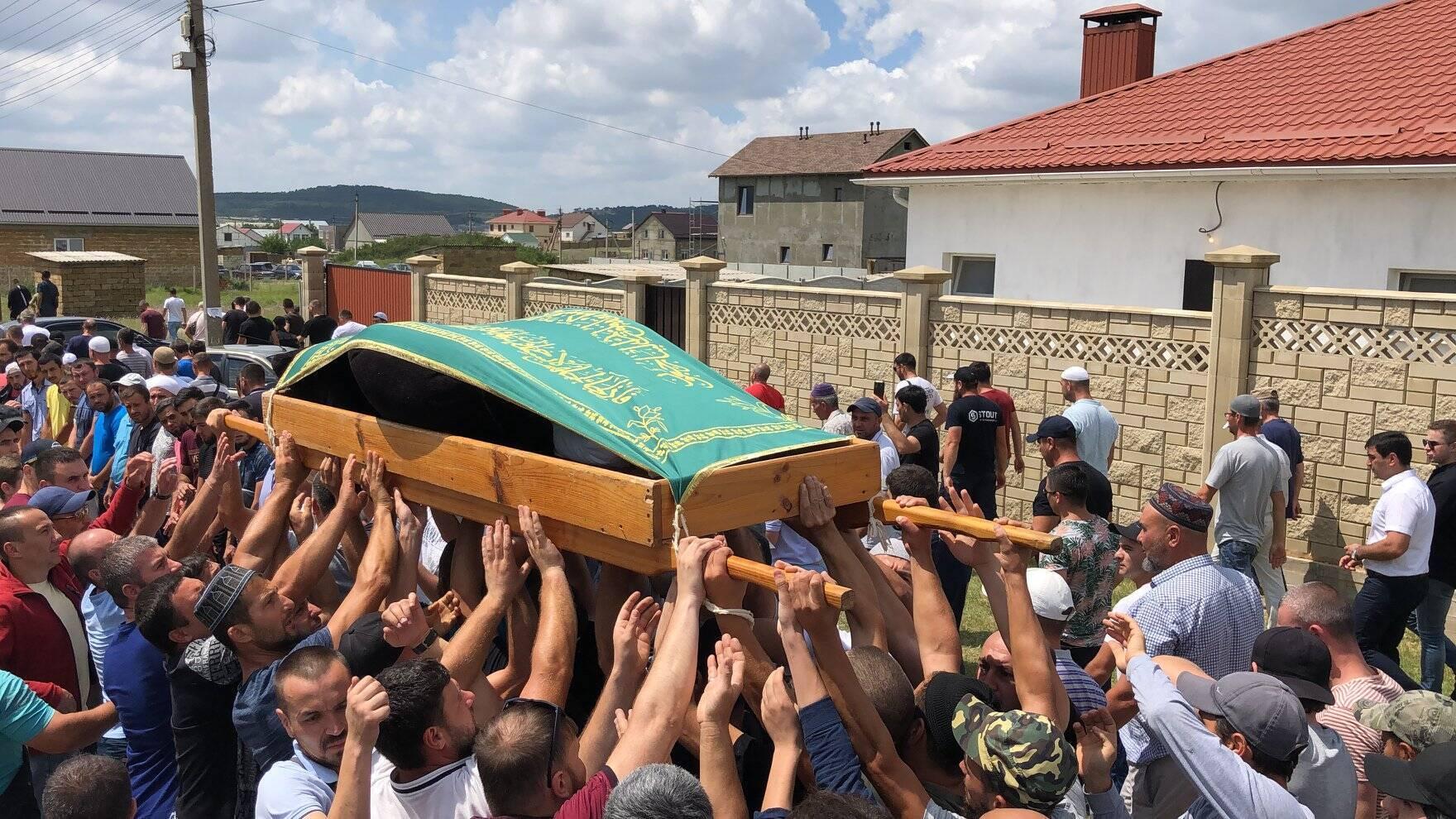 Похорон Муси Сулейманова