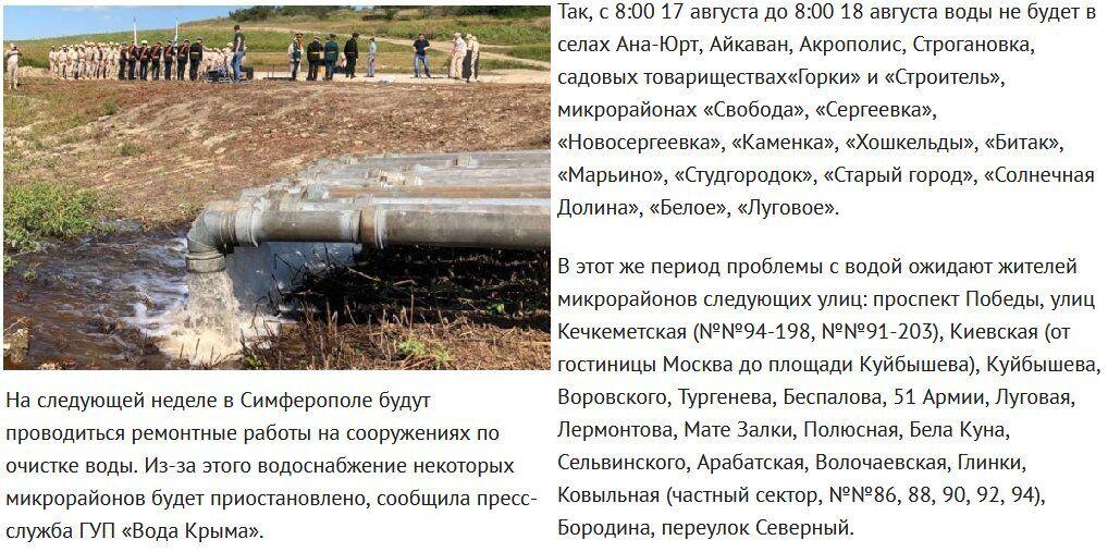 Новости Крымнаша. Безнадежный Крым — витрина достижений путинского режима