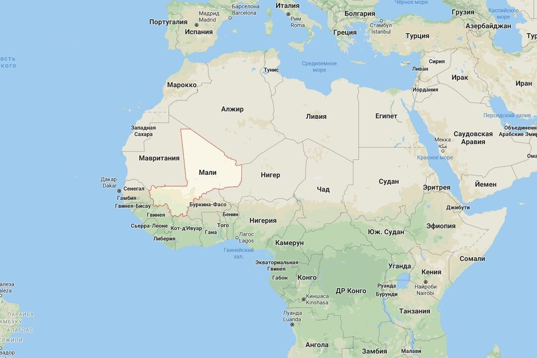 В Мали вспыхнул военный мятеж