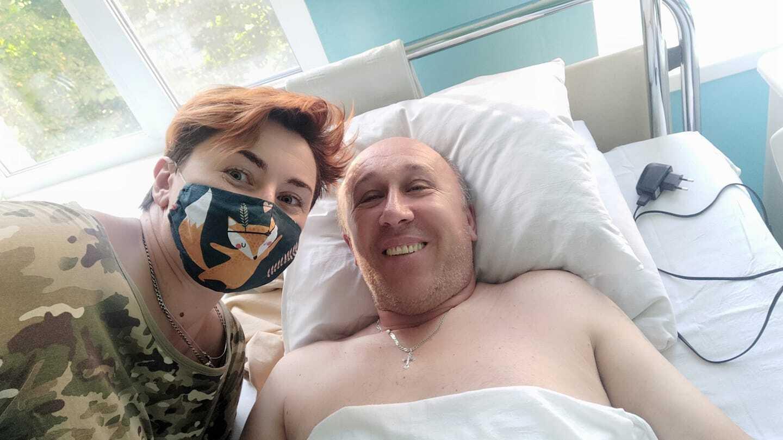 Журналист опубликовала фото из госпиталя, где лечится Рымаренко