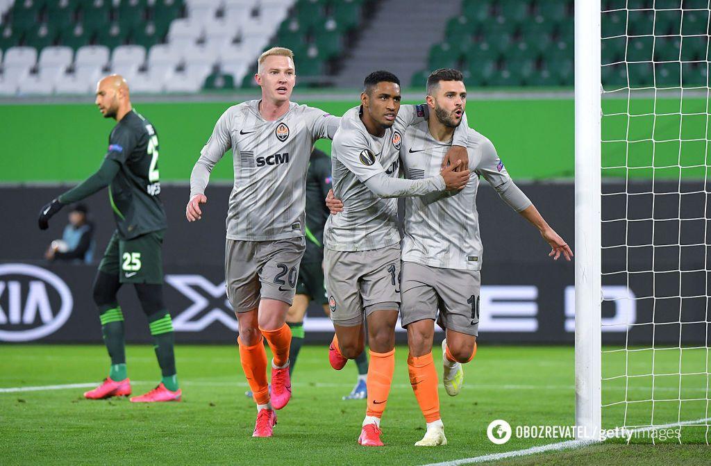 """""""Шахтер"""" – """"Вольфсбург"""": смотреть онлайн матча 1/8 финала Лиги Европы photo"""