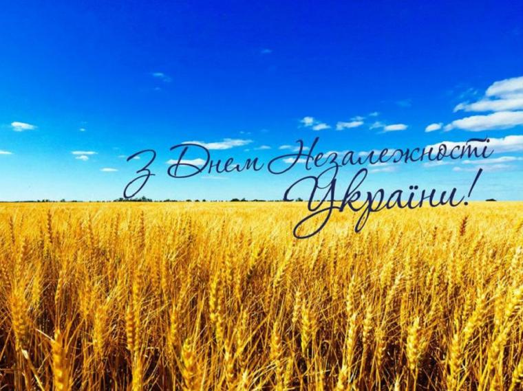 покрытие открытка ко дню независимости украины массовым