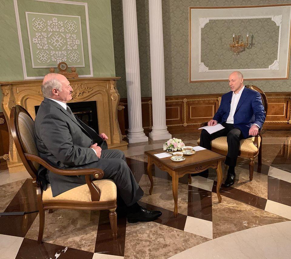Интервью Дмитрия Гордона с президентом республики