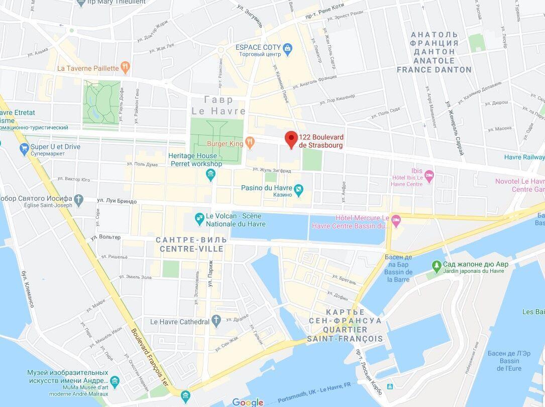 Происшествие случилось в банке на бульваре Страсбург, 122