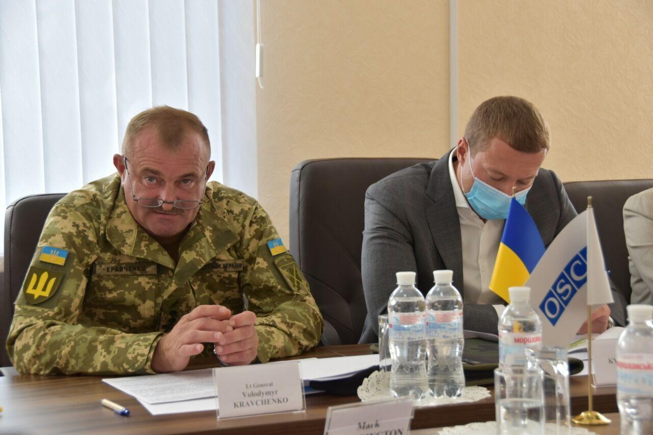 В Краматорске состоялась рабочая встреча командующего ООС с делегацией СММ ОБСЕ
