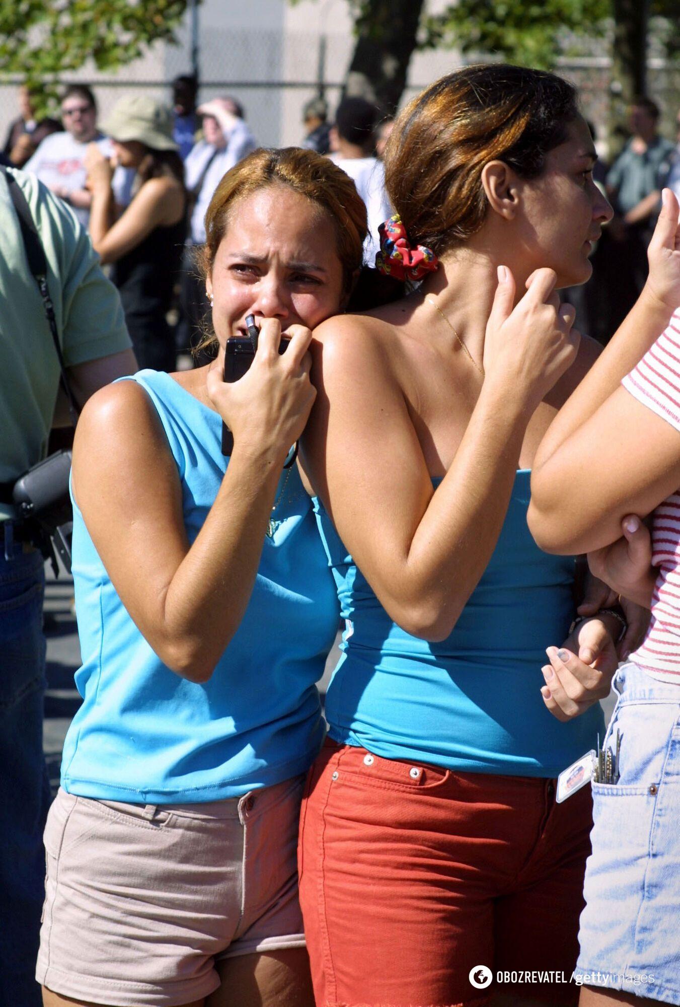 Після трагедії Нью-Йорк охопила паніка