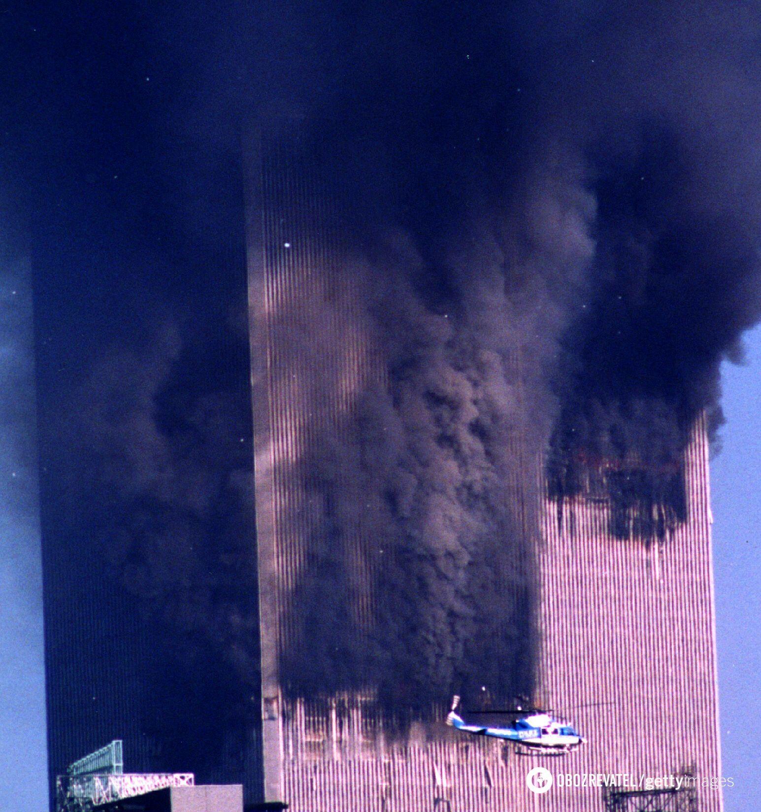 Пожежа в баштах-близнюках 11 вересня 2001 року
