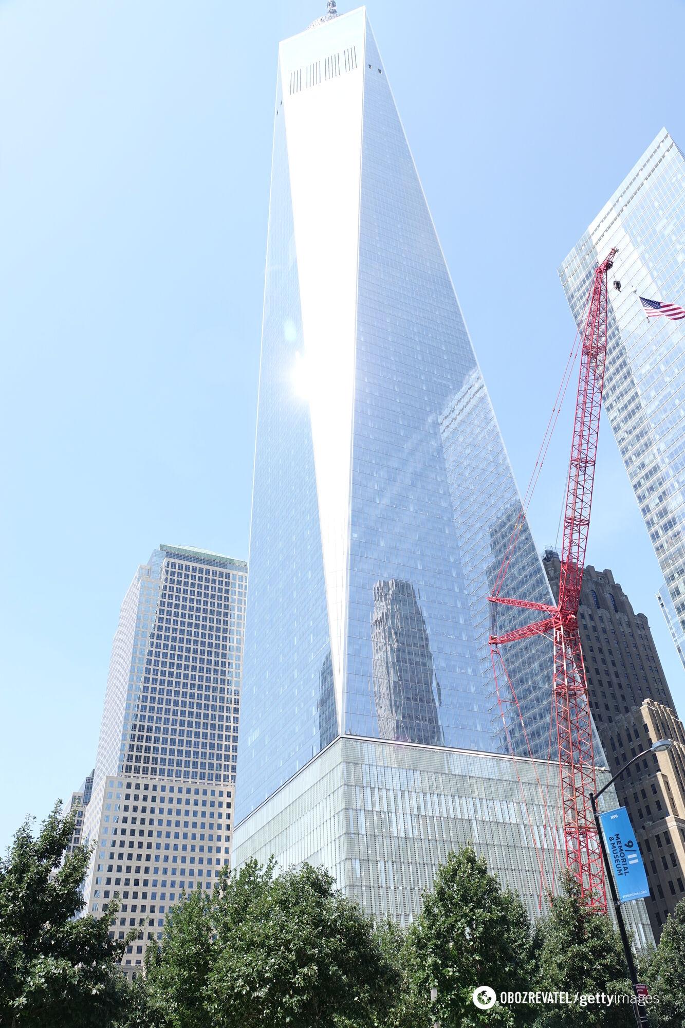 Вежу свободи в Нью-Йорку було побудовано на місці зруйнованих веж-близнюків