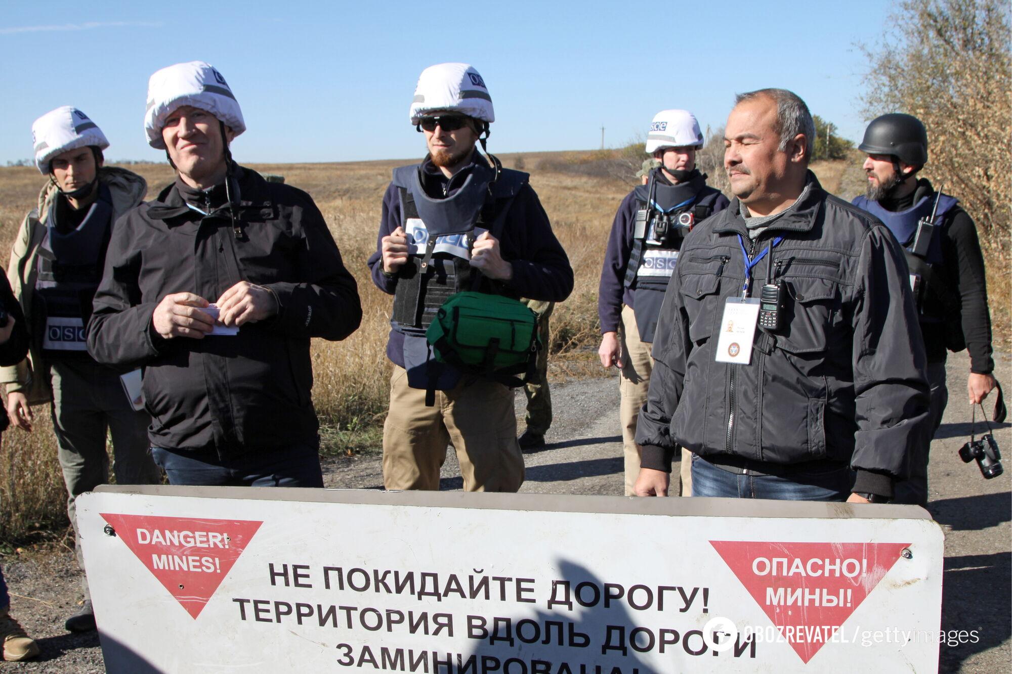 Руслан Якубов (Халилов) на оккупированной части Донбасса расширяет круг контактов в ОБСЕ