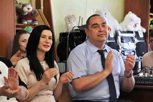 Лариса и Игорь Плотницкие.