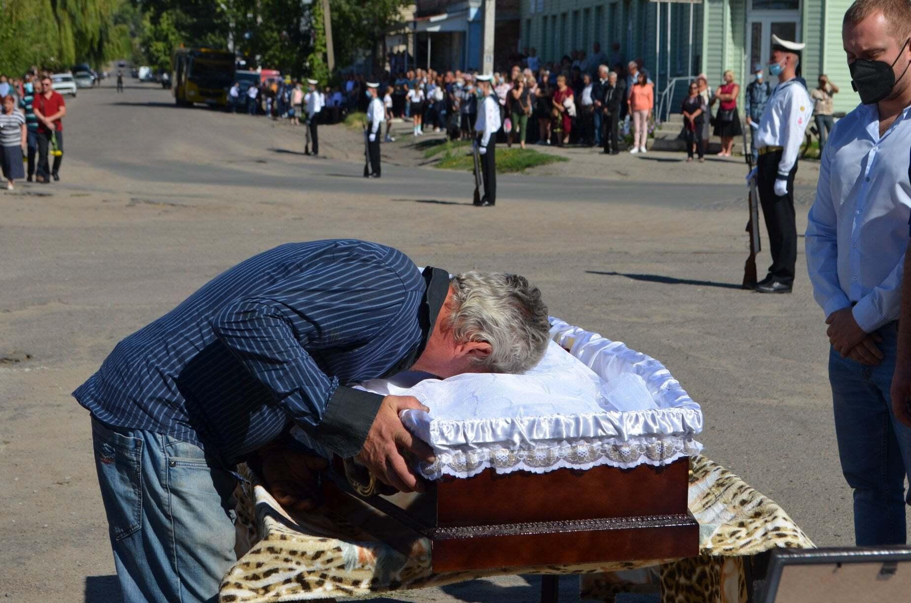 Похорон відбувся 10 серпня.