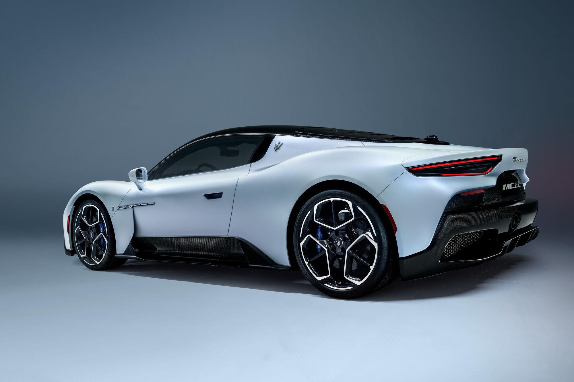 2021 Maserati MC20. Фото: