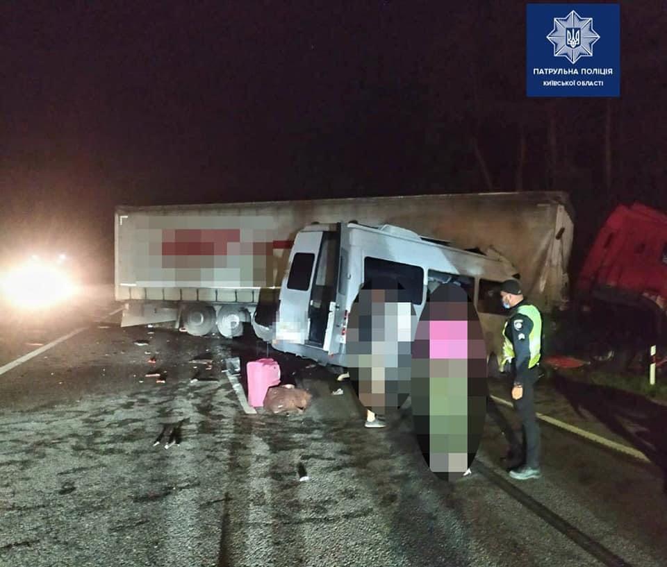 Смертельное ДТП случилось на трассе Киев – Харьков – Довжанский