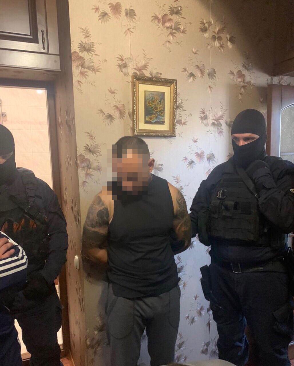 В задержании участвовали спецназовцы.