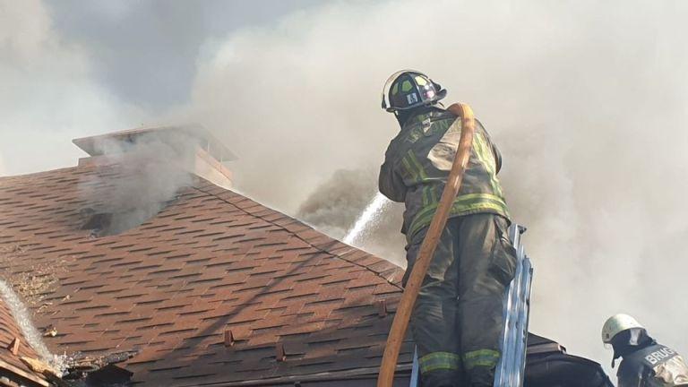 Пожежу локалізували близько 16:30.