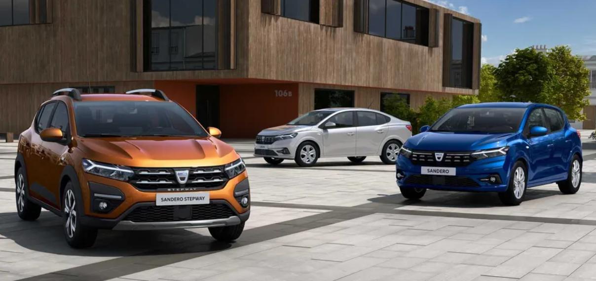 Нові Renault Logan і Sandero показали на перших зображеннях.