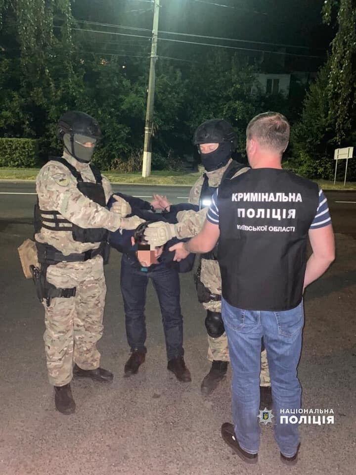 Злоумышленник скрывался от правоохранителей в Киеве