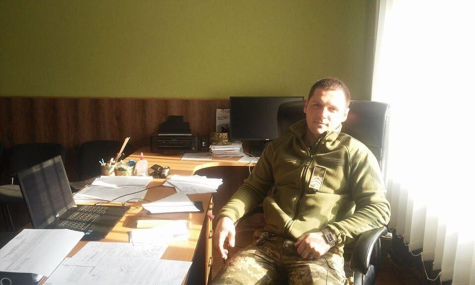 Володимир Хоменко, 54 ОМБр