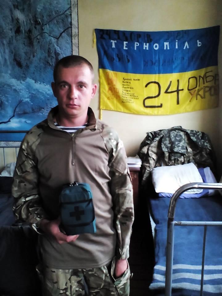 Віталій Грицишин на фронті з 2015 року