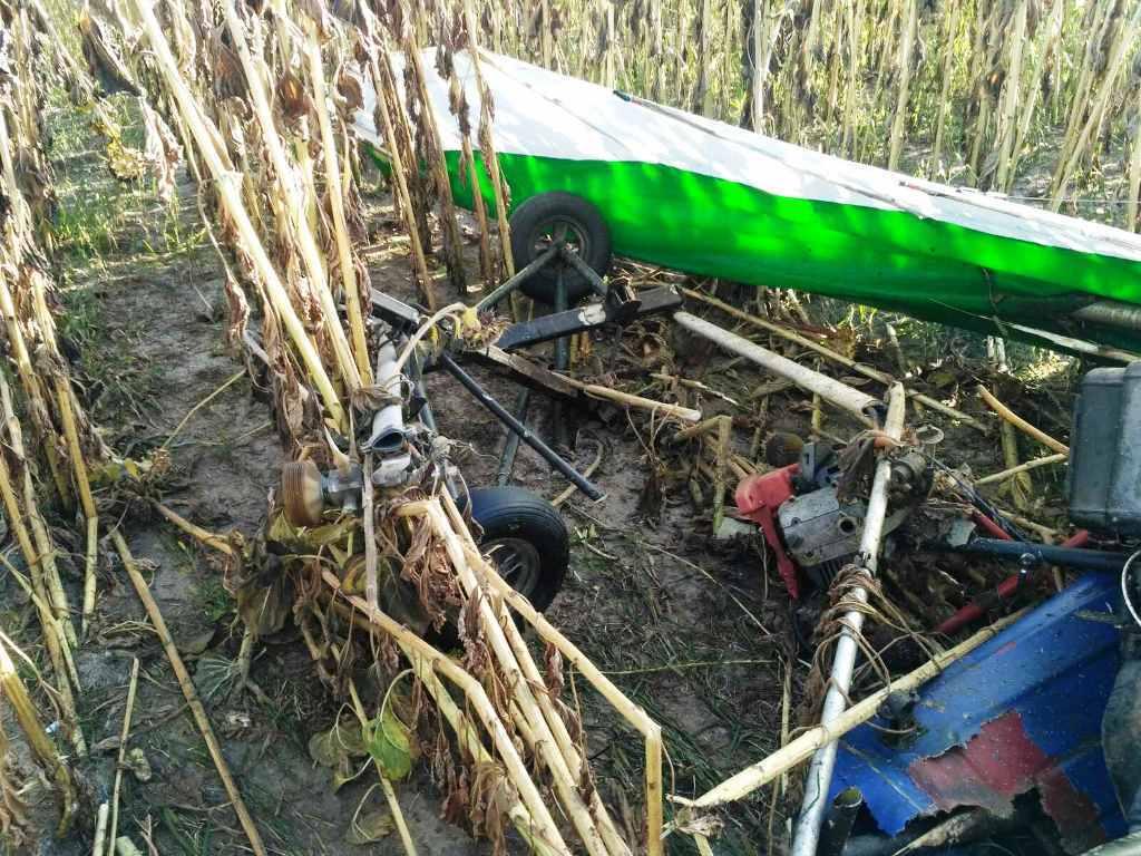 Через падіння дельтаплана загинув пілот з смт Озерне.
