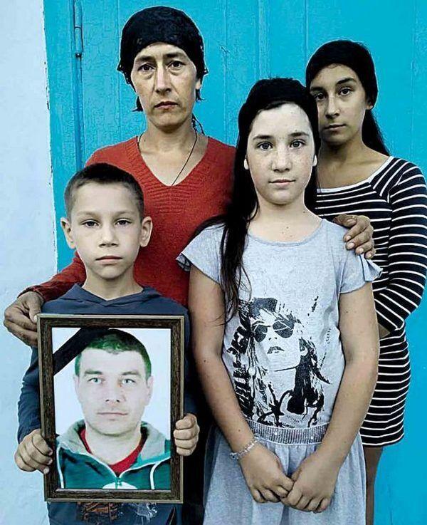 Жена и дети Анатолия Рудько.