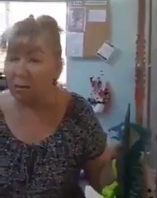 """Продавщица, которая назвала Украину """"русской"""" землей."""