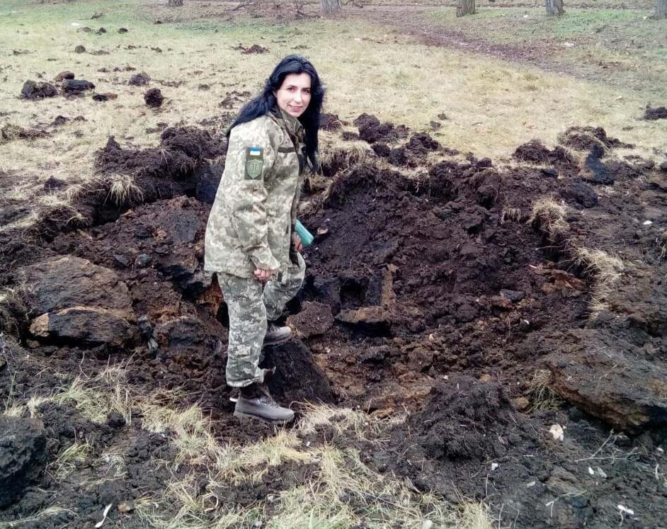 Наслідки обстрілу Новолуганського в грудні 2017 року.