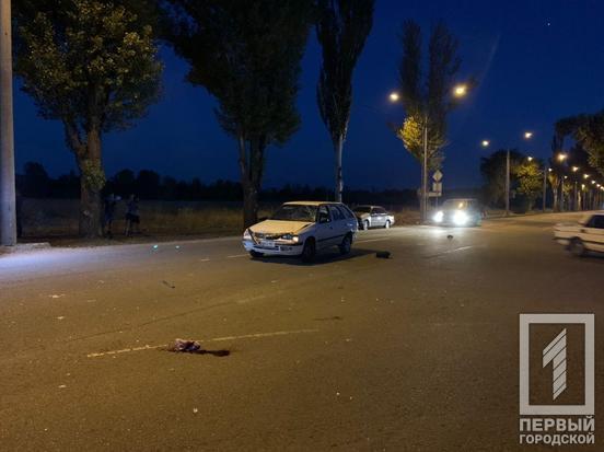 В Кривом Роге насмерть сбили велосипедиста