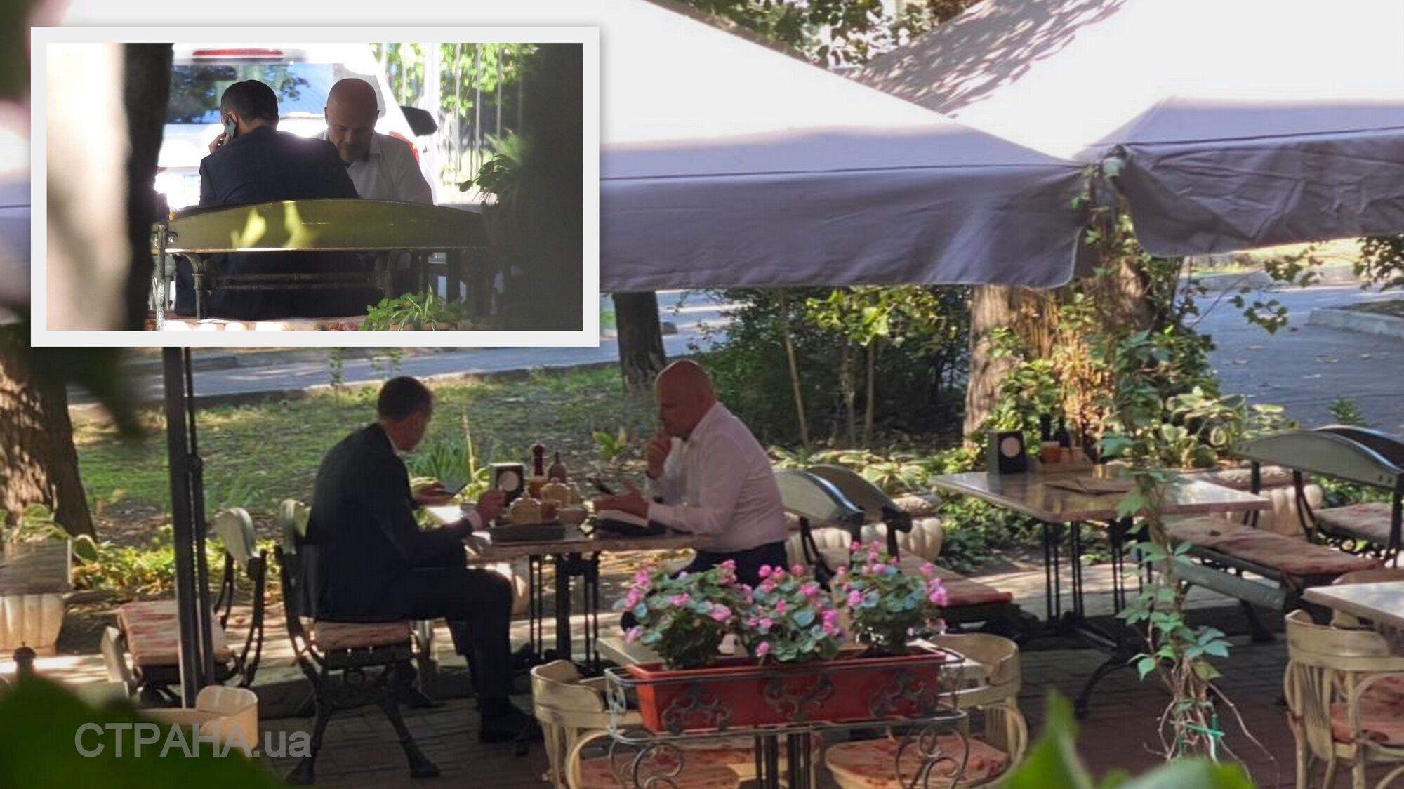 Радуцкий в Одессе сходил на ланч с Ляшко