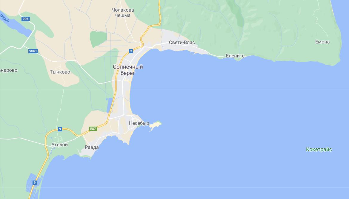 Украинский турист погиб в первый день отдыха в Болгарии