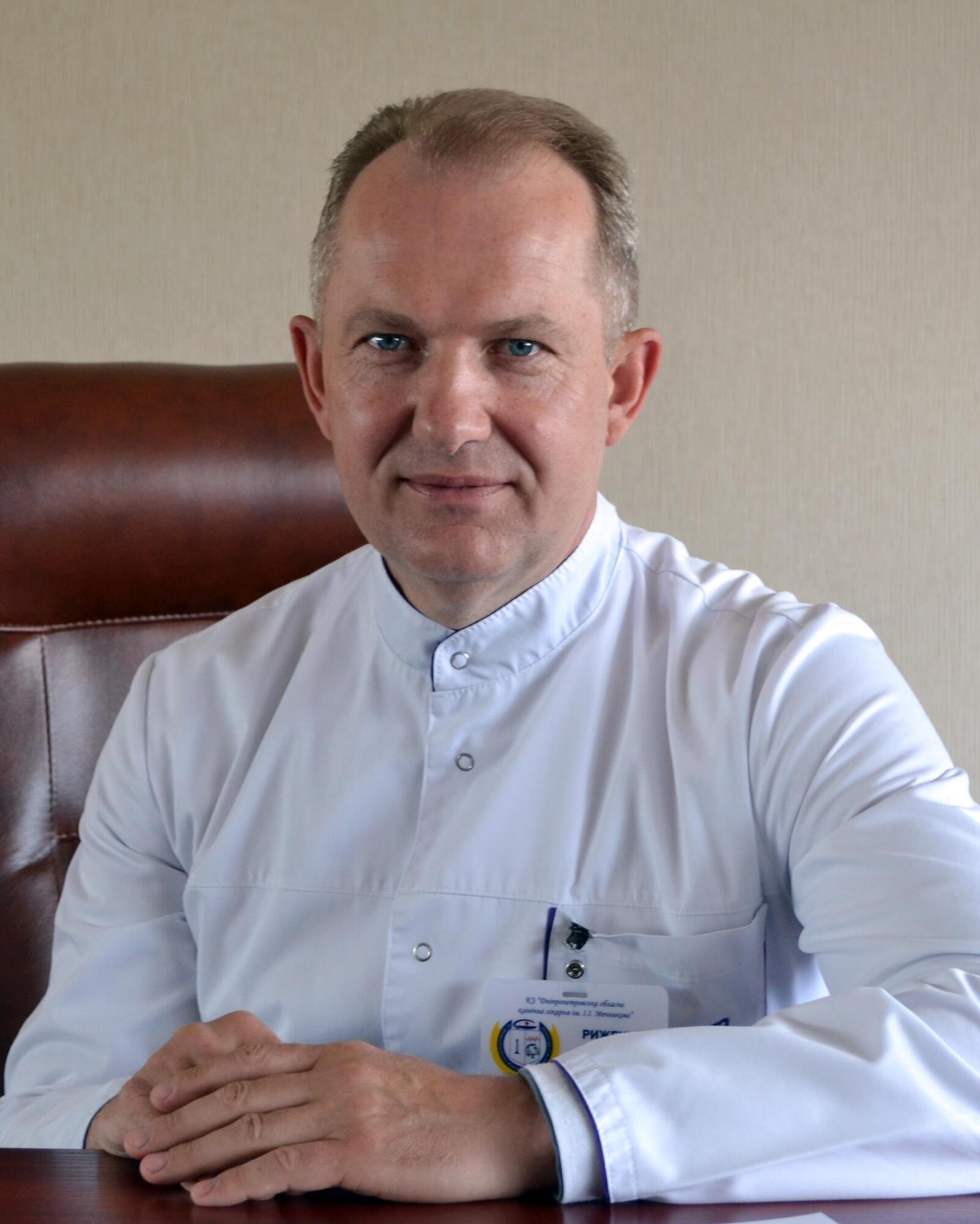 Сергій Риженко – головний лікар лікарні імені Мечникова