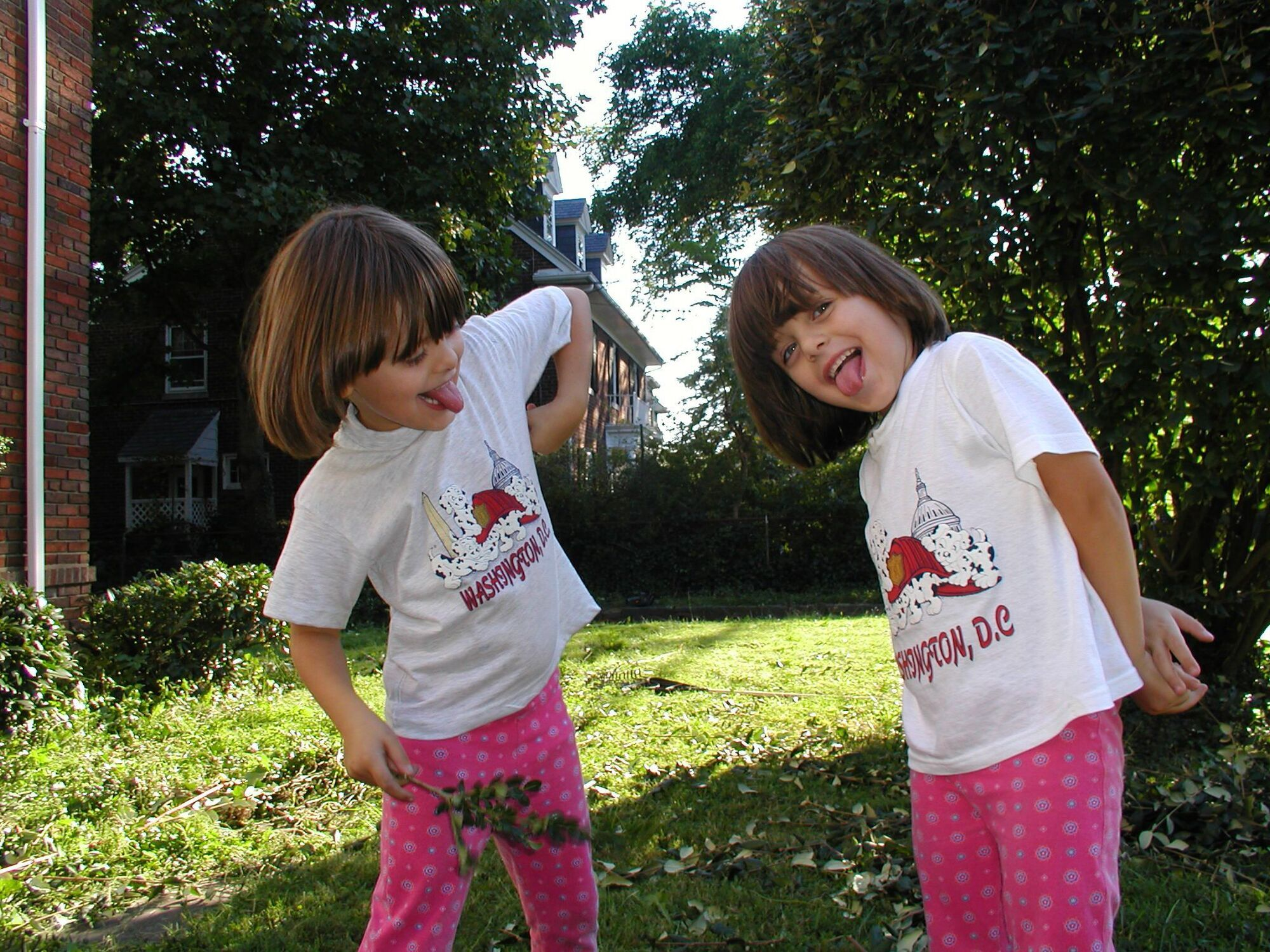 Соломія і Нана Гонгадзе після переїзду до Вашингтона.