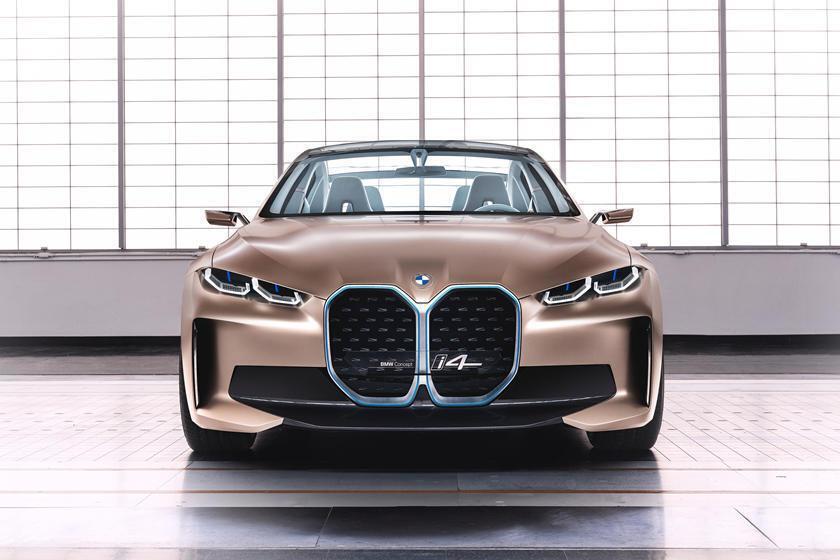 Концептуальный BMW i4.