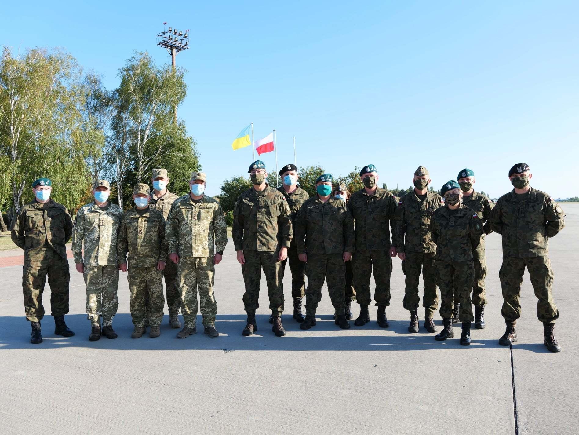 До України прибула делегація Збройних сил Республіки Польща.