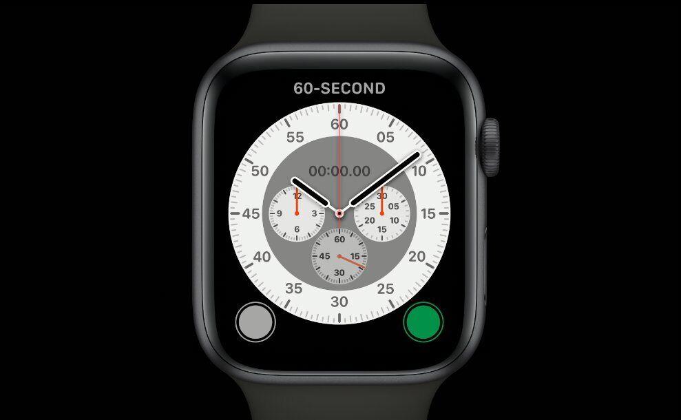 Apple Watch Series 6.