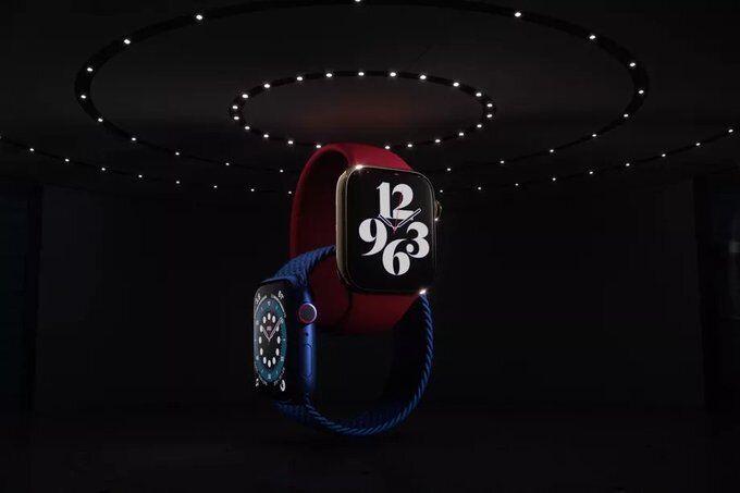 Новые часы Apple Watch.