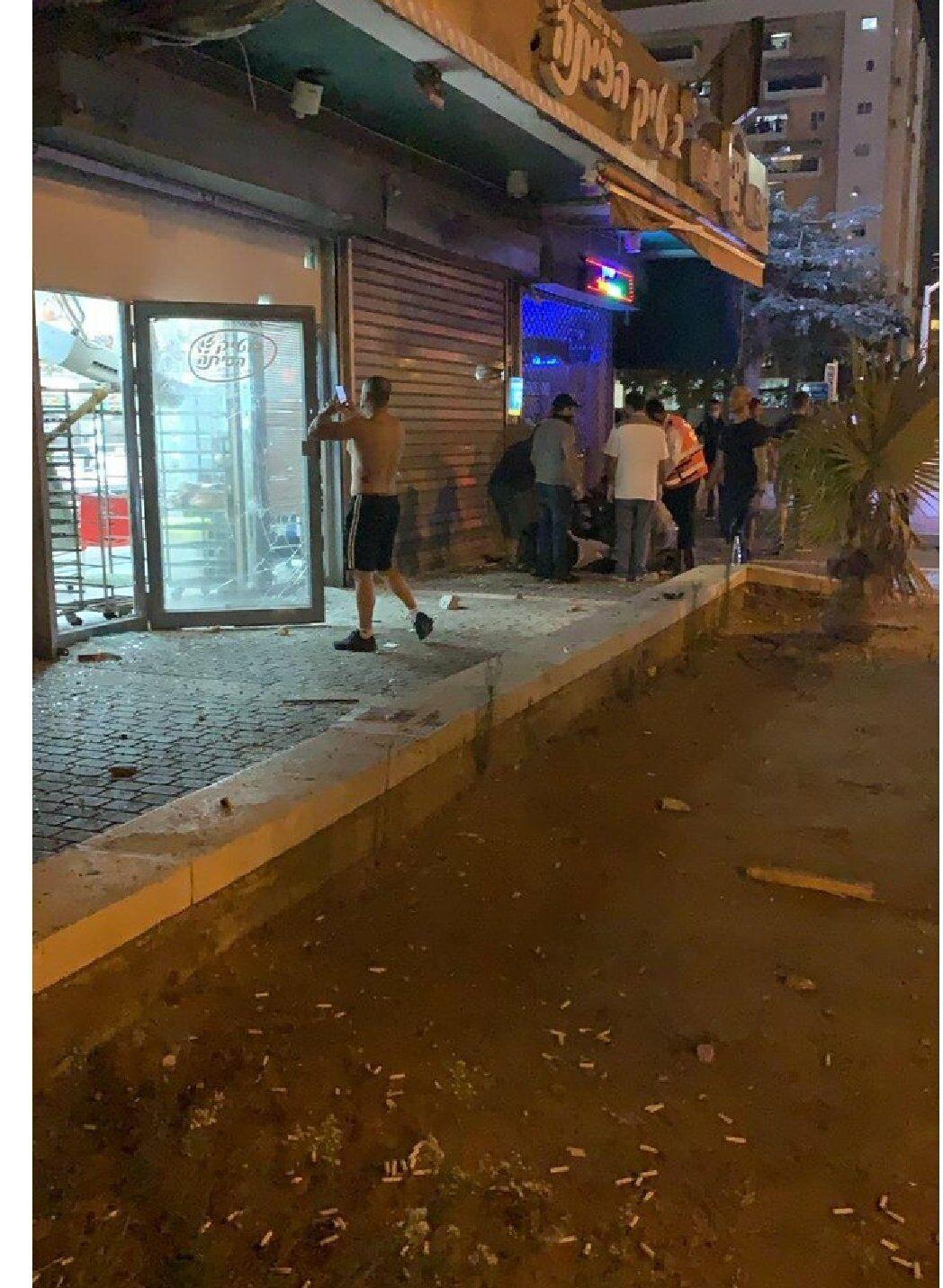 Обстріл в Ашдоді.
