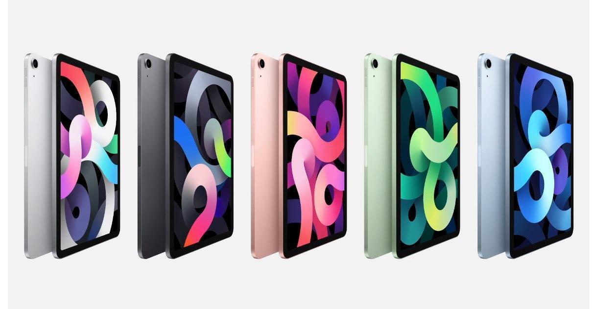 Как выглядят новые iPad и iPad Air .