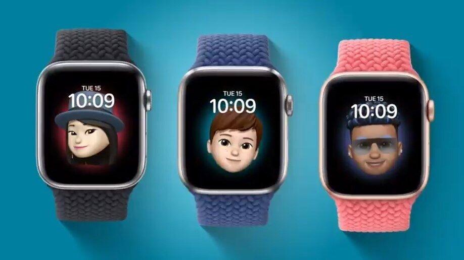 В Apple Watch будут циферблаты с мемодзи.