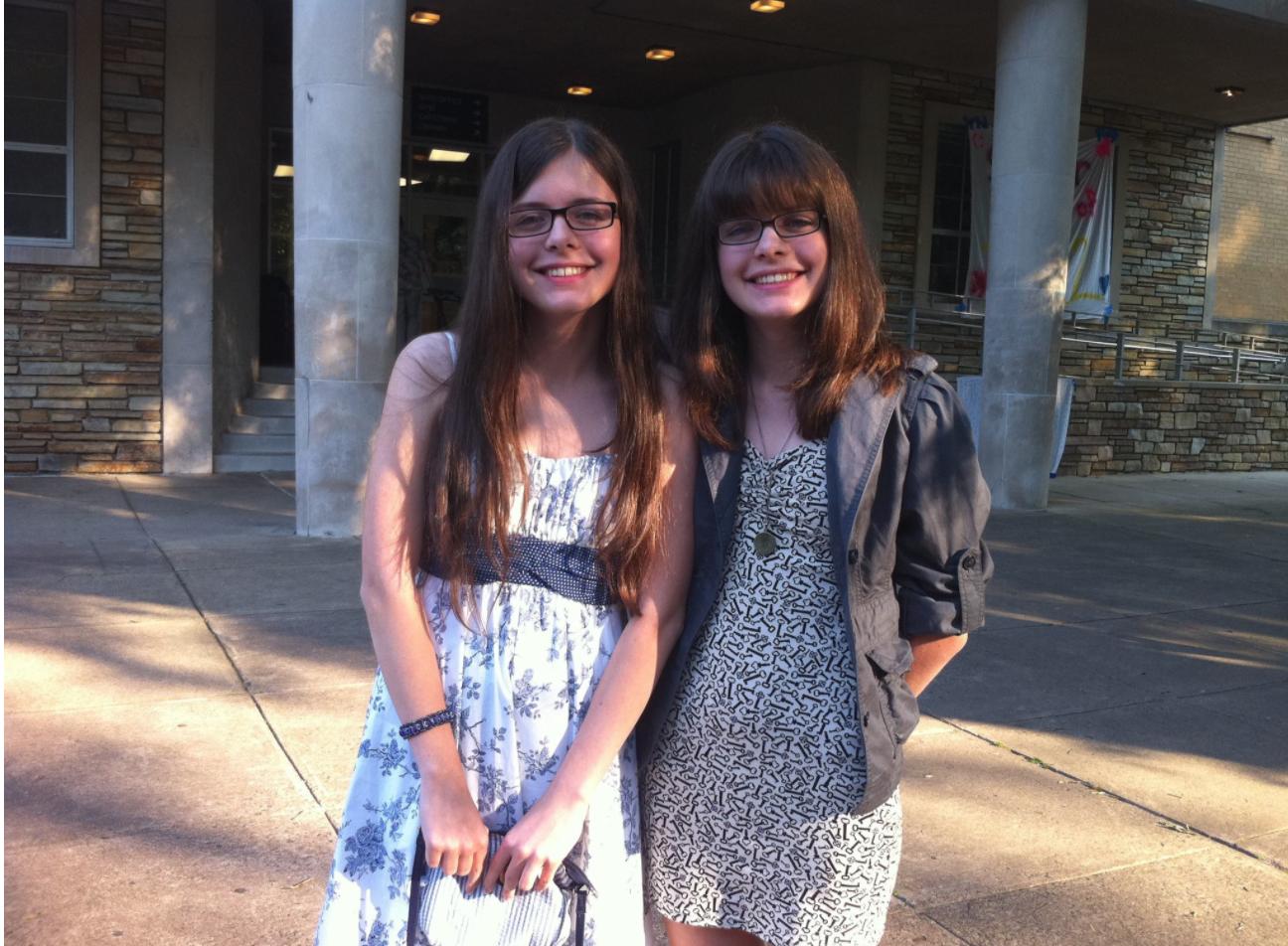 Нана і Соломія Гонгадзе у Вашингтоні після закінчення школи.